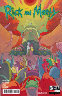 Cover Thumbnail for Rick and Morty (Oni Press, 2015 series) #14 [Regular CJ Cannon Cover]