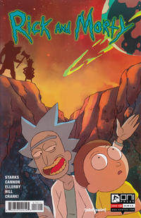 Cover Thumbnail for Rick and Morty (Oni Press, 2015 series) #16 [Regular Cover]