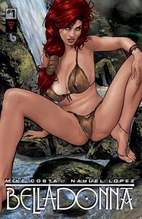 Cover Thumbnail for Belladonna (Avatar Press, 2015 series) #1 [Century Bikini A - Christian Zanier Cover]