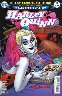 Cover Thumbnail for Harley Quinn (DC, 2016 series) #21