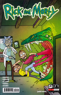 Cover Thumbnail for Rick and Morty (Oni Press, 2015 series) #21 [Retail Cover]