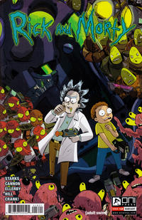 Cover Thumbnail for Rick and Morty (Oni Press, 2015 series) #18 [Incentive Louie Chin Variant]
