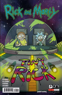 Cover Thumbnail for Rick and Morty (Oni Press, 2015 series) #25 [Retail Cover]