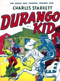 Cover Thumbnail for Durango Kid (Compix, 1952 series) #3 [No Cover Price]
