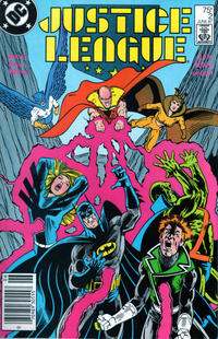 Cover Thumbnail for Justice League (DC, 1987 series) #2 [Newsstand]