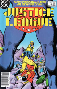 Cover Thumbnail for Justice League (DC, 1987 series) #4 [Newsstand]
