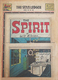 Cover Thumbnail for The Spirit (Register and Tribune Syndicate, 1940 series) #5/28/1950