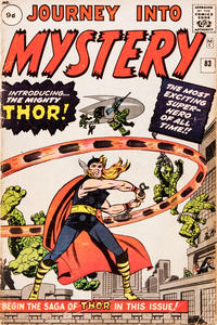 Cover Thumbnail for Journey into Mystery (Marvel, 1952 series) #83 [British]