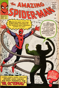 Cover Thumbnail for The Amazing Spider-Man (Marvel, 1963 series) #3 [British Price Variant]