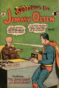 Cover Thumbnail for Superman's Pal, Jimmy Olsen (K. G. Murray, 1955 series) #32