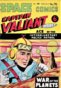 Cover Thumbnail for Space Comics (Arnold Book Company, 1953 series) #76