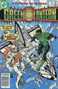 Cover for Green Lantern (DC, 1976 series) #187 [Direct Edition]