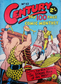 Cover Thumbnail for Century, The 100 Page Comic Monthly (K. G. Murray, 1956 series) #17