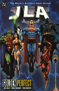 Cover Thumbnail for JLA (DC, 1997 series) #10 - Golden Perfect
