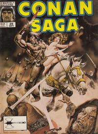 Cover Thumbnail for Conan Saga (Marvel, 1987 series) #29 [Direct]