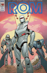 Cover Thumbnail for ROM (IDW, 2016 series) #11 [Regular Cover]