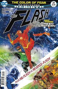 Cover Thumbnail for The Flash (DC, 2016 series) #24 [Carmine Di Giandomenico Cover]