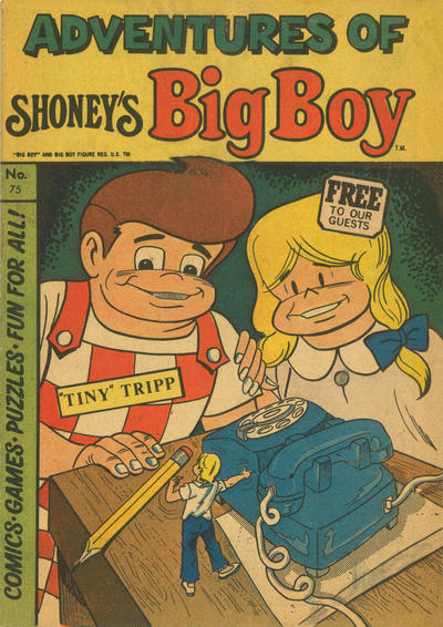 Cover for Adventures of Big Boy (Paragon Products, 1976 series) #75
