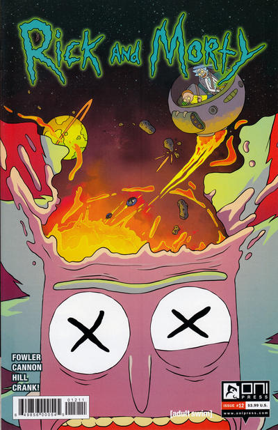 Cover for Rick and Morty (Oni Press, 2015 series) #12 [Retail Cover]