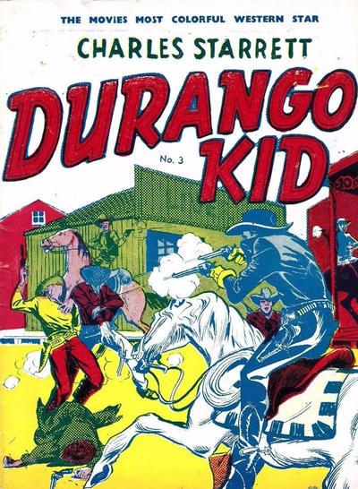 Cover for Durango Kid (Compix, 1952 series) #3