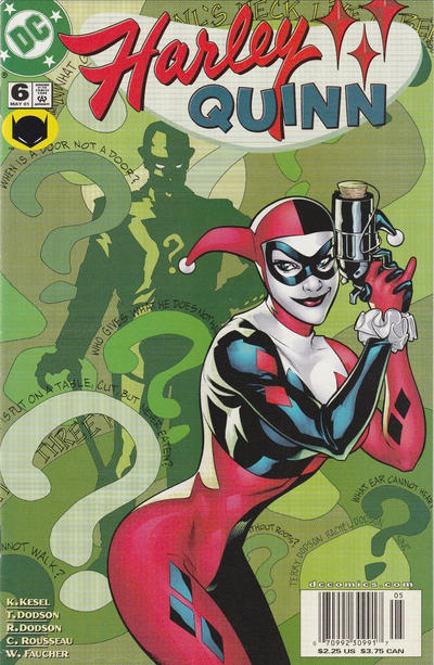 Cover for Harley Quinn (DC, 2000 series) #6 [Direct Sales]