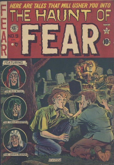 Cover for Haunt of Fear (EC, 1950 series) #9 [Regular Edition]