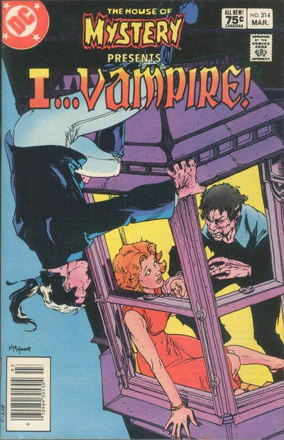 Cover for House of Mystery (DC, 1951 series) #314 [Direct-Sales]