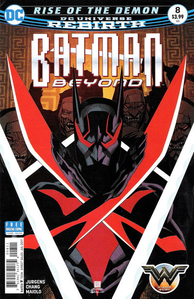 Cover for Batman Beyond (DC, 2016 series) #8 [Martin Ansin Cover]
