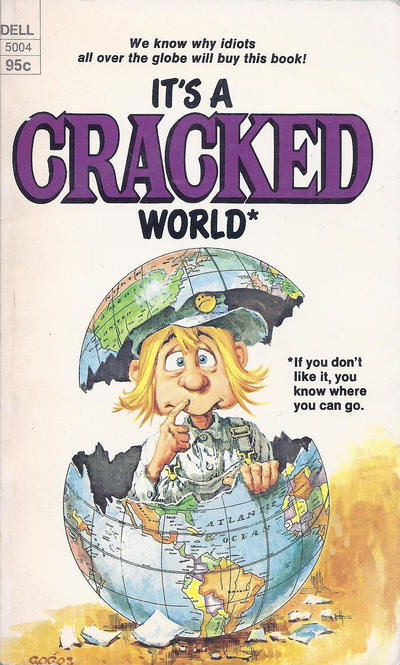 Cover for It's a Cracked World (Dell, 1975 series) #5004