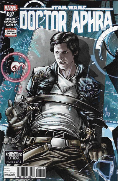 Cover for Doctor Aphra (Marvel, 2017 series) #7 [Marco Checchetto]