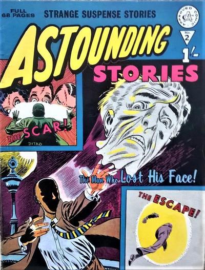 Cover for Astounding Stories (Alan Class, 1966 series) #2