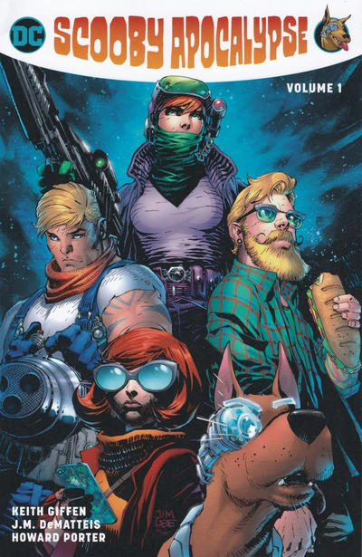 Cover for Scooby Apocalypse (DC, 2017 series) #1