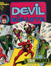 Cover for Devil Gigante (Editoriale Corno, 1977 series) #21
