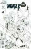 Cover for Ninjak (Valiant Entertainment, 2015 series) #1 [Cover I - Midtown Shared Sketch Variant - Clay Mann]