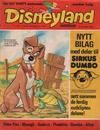 Cover for Disneyland barneblad (Hjemmet / Egmont, 1973 series) #11/1974