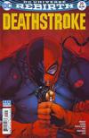 Cover for Deathstroke (DC, 2016 series) #20 [Shane Davis / Michelle Delecki Cover]