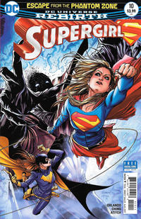 Cover Thumbnail for Supergirl (DC, 2016 series) #10