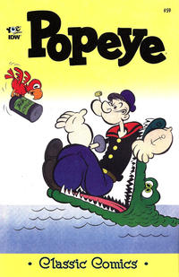 Cover Thumbnail for Classic Popeye (IDW, 2012 series) #59