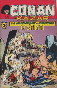 Cover Thumbnail for Conan e Kazar (Editoriale Corno, 1975 series) #21