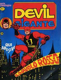 Cover Thumbnail for Devil Gigante (Editoriale Corno, 1977 series) #1