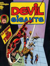 Cover Thumbnail for Devil Gigante (Editoriale Corno, 1977 series) #27