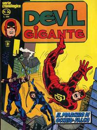 Cover Thumbnail for Devil Gigante (Editoriale Corno, 1977 series) #34