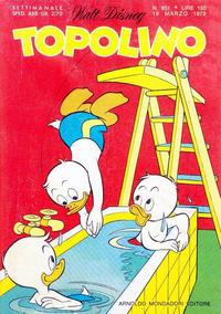 Cover Thumbnail for Topolino (Arnoldo Mondadori Editore, 1949 series) #851