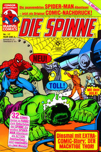 Cover Thumbnail for Die Spinne (Condor, 1987 series) #17