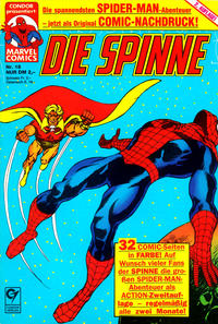 Cover Thumbnail for Die Spinne (Condor, 1987 series) #18
