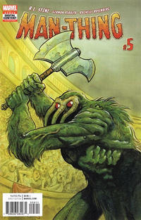 Cover Thumbnail for Man-Thing (Marvel, 2017 series) #5