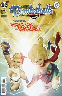 Cover Thumbnail for DC Comics: Bombshells (DC, 2015 series) #29