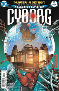 Cover Thumbnail for Cyborg (DC, 2016 series) #13 [Allan Jefferson Cover]