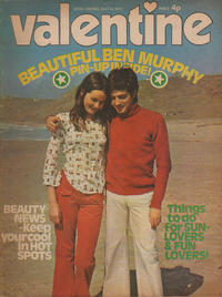 Cover Thumbnail for Valentine (IPC, 1957 series) #5 August 1972