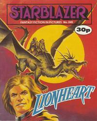 Cover Thumbnail for Starblazer (D.C. Thomson, 1979 series) #249